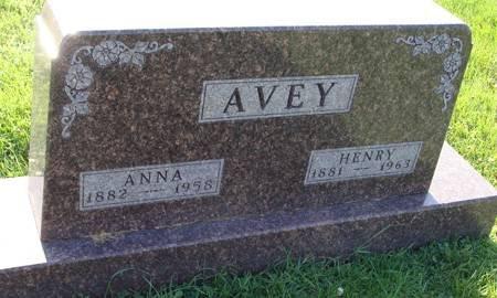 AVEY, HENRY - Guthrie County, Iowa | HENRY AVEY