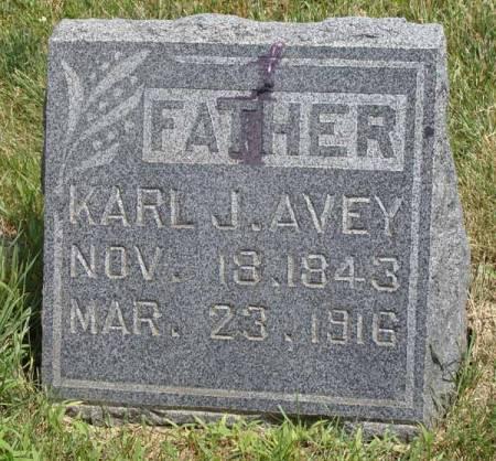 AVEY, KARL J - Guthrie County, Iowa   KARL J AVEY