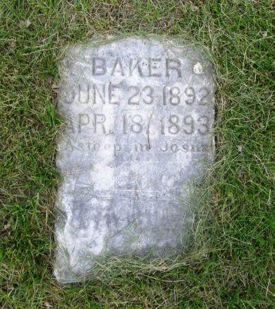 BAKER, ???? - Guthrie County, Iowa | ???? BAKER