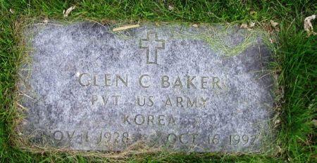 BAKER, GLEN C. - Guthrie County, Iowa   GLEN C. BAKER