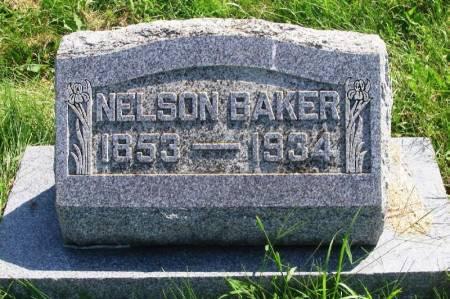 BAKER, NELSON - Guthrie County, Iowa   NELSON BAKER