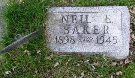 BAKER, NEIL E. - Guthrie County, Iowa | NEIL E. BAKER