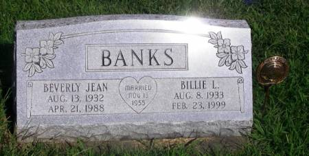 BANKS, BEVERLY JEAN - Guthrie County, Iowa | BEVERLY JEAN BANKS