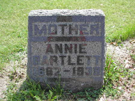 SHORT BARTLETT, ANNIE (ANNA) - Guthrie County, Iowa | ANNIE (ANNA) SHORT BARTLETT