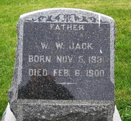 JACK, W. W. - Guthrie County, Iowa | W. W. JACK