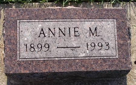 BAUER, ANNIE M - Guthrie County, Iowa | ANNIE M BAUER