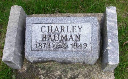 BAUMAN, CHARLEY - Guthrie County, Iowa | CHARLEY BAUMAN