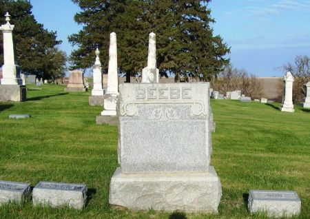BEEBE, ALONZO A. FAMILY STONE - Guthrie County, Iowa | ALONZO A. FAMILY STONE BEEBE