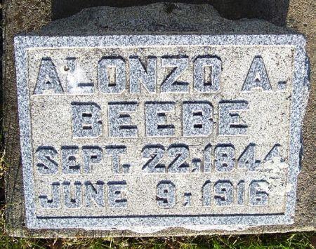 BEEBE, ALONZO A. - Guthrie County, Iowa | ALONZO A. BEEBE