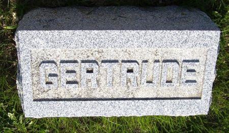 BEEBE, GERTRUDE - Guthrie County, Iowa   GERTRUDE BEEBE