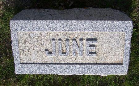 BEEBE, JUNE - Guthrie County, Iowa   JUNE BEEBE