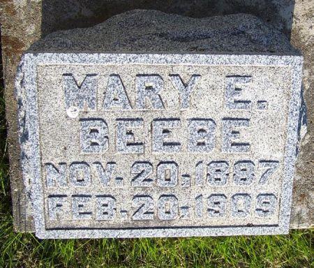 BEEBE, MARY E. - Guthrie County, Iowa | MARY E. BEEBE