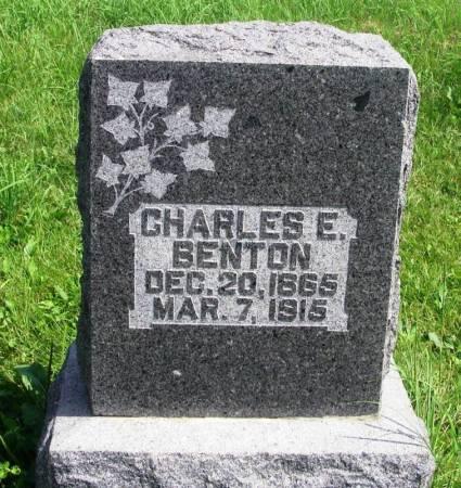 BENTON, CHARLES E. - Guthrie County, Iowa | CHARLES E. BENTON