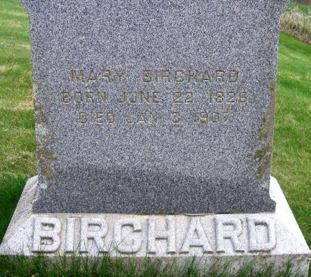 BIRCHARD, MARY - Guthrie County, Iowa   MARY BIRCHARD