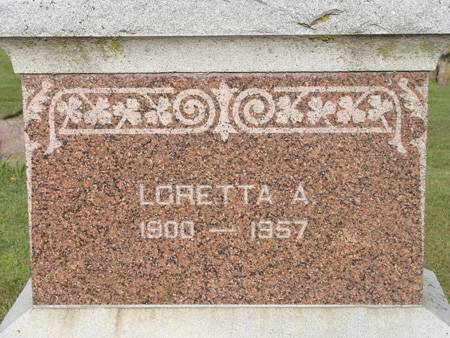 BOCHERT, LORETTA A - Guthrie County, Iowa | LORETTA A BOCHERT