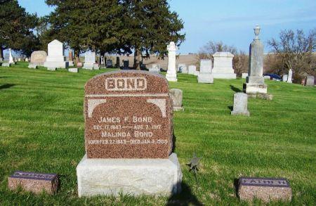 BOND, MALINDA - Guthrie County, Iowa   MALINDA BOND