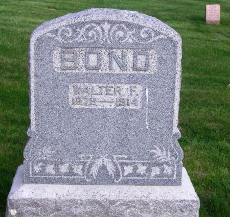 BOND, WALTER F. - Guthrie County, Iowa | WALTER F. BOND
