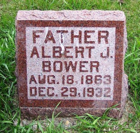 BOWER, ALBERT J. - Guthrie County, Iowa | ALBERT J. BOWER