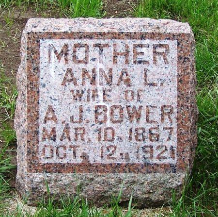 BOWER, ANNA L. - Guthrie County, Iowa | ANNA L. BOWER