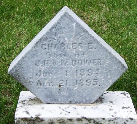 BOWER, CHARLES E. - Guthrie County, Iowa | CHARLES E. BOWER
