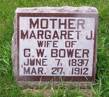 BOWER, MARGARET J. - Guthrie County, Iowa | MARGARET J. BOWER