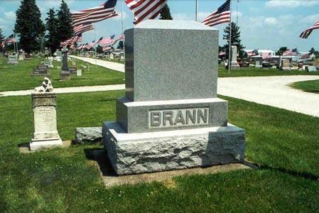 BRANN,  - Guthrie County, Iowa |  BRANN