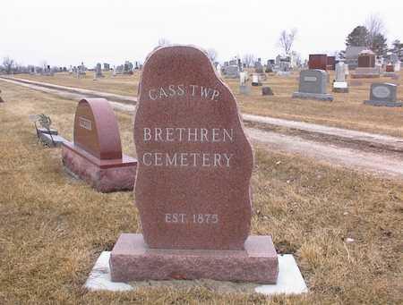 BRETHREN, CEMETERY - Guthrie County, Iowa   CEMETERY BRETHREN