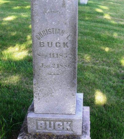 BUCK, CHRISTIAN L. - Guthrie County, Iowa | CHRISTIAN L. BUCK