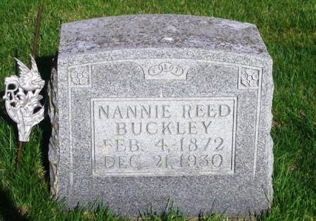 BUCKLEY, NANNIE - Guthrie County, Iowa | NANNIE BUCKLEY