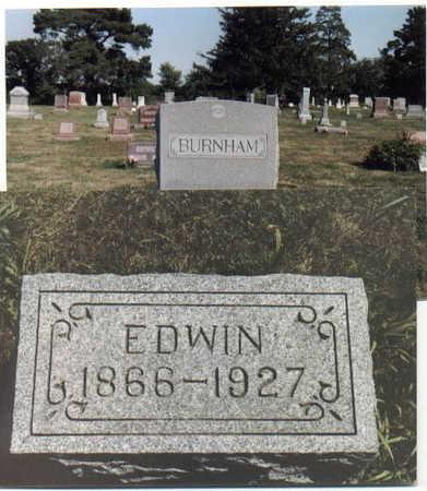 BURNHAM, EDWIN - Guthrie County, Iowa | EDWIN BURNHAM