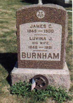 BURNHAM, JAMES C - Guthrie County, Iowa | JAMES C BURNHAM