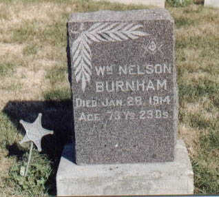 BURNHAM, WILLIAM NELSON - Guthrie County, Iowa | WILLIAM NELSON BURNHAM