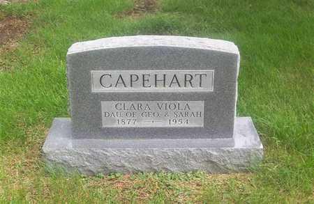 CAPEHART, CLARA VIOLA - Guthrie County, Iowa | CLARA VIOLA CAPEHART