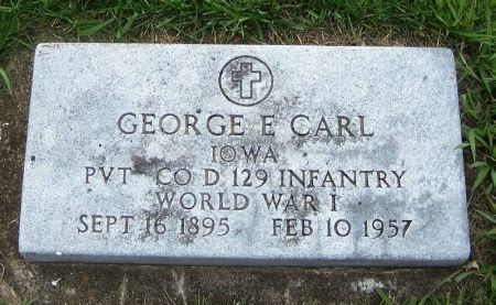 CARL, GEORGE E. - Guthrie County, Iowa | GEORGE E. CARL