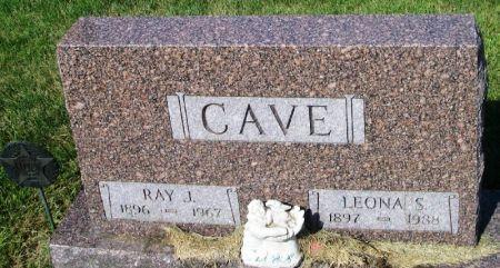 CAVE, LEONA S. - Guthrie County, Iowa | LEONA S. CAVE