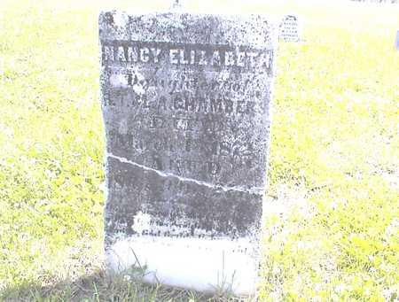 CHAMBERS, NANCY ELIZABETH - Guthrie County, Iowa | NANCY ELIZABETH CHAMBERS