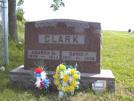 CLARK, DAVID F. - Guthrie County, Iowa | DAVID F. CLARK