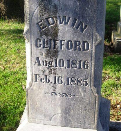 CLIFFORD, EDWIN - Guthrie County, Iowa   EDWIN CLIFFORD