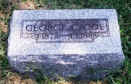 COE, GEORGE C. - Guthrie County, Iowa   GEORGE C. COE