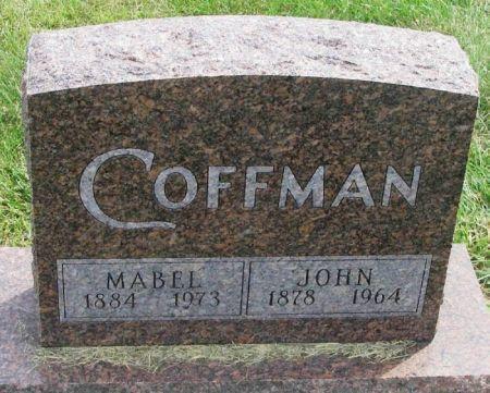 COFFMAN, MABEL - Guthrie County, Iowa | MABEL COFFMAN