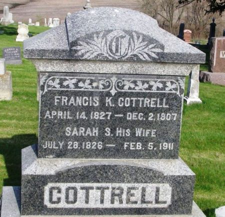COTTRELL, FRANCIS K. - Guthrie County, Iowa   FRANCIS K. COTTRELL