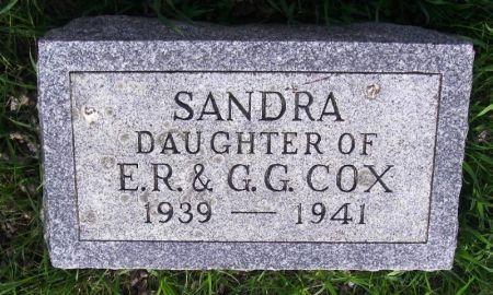 COX, SANDRA - Guthrie County, Iowa | SANDRA COX