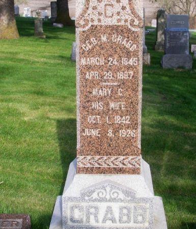CRABB, GEORGE M. - Guthrie County, Iowa | GEORGE M. CRABB