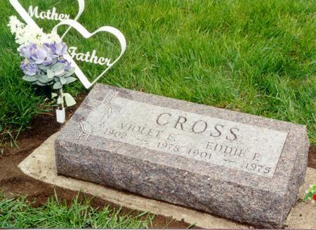 CROSS, EDDIE FORREST - Guthrie County, Iowa | EDDIE FORREST CROSS