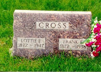 CROSS, FRANK EARL - Guthrie County, Iowa | FRANK EARL CROSS