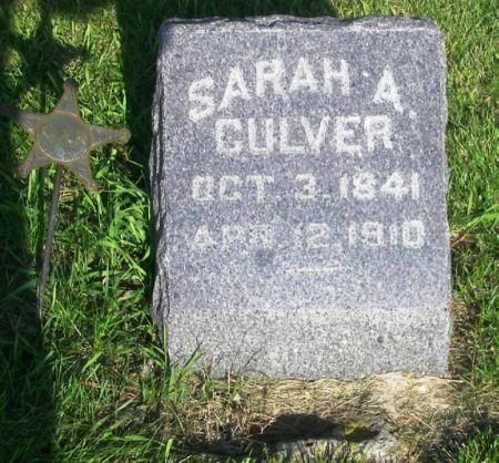 CULVER, SARAH A. - Guthrie County, Iowa | SARAH A. CULVER