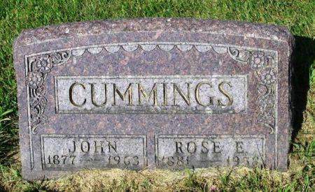 CUMMINGS, JOHN - Guthrie County, Iowa | JOHN CUMMINGS