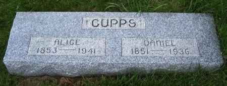 CUPPS, DANIEL - Guthrie County, Iowa | DANIEL CUPPS
