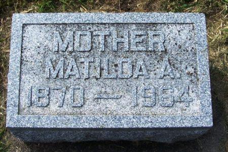 CURTIS, MATILDA A. - Guthrie County, Iowa | MATILDA A. CURTIS