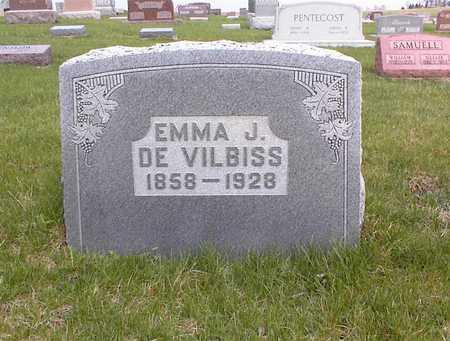 DEVILBISS, EMMA J - Guthrie County, Iowa   EMMA J DEVILBISS